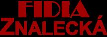 logo FIDIA Znalecká - červená-malé